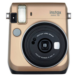 instant camera gold
