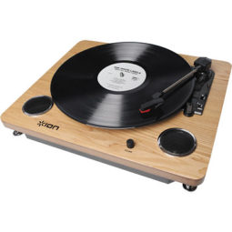 3-Speed Belt Drive Turntable