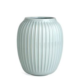 scandinavian design, mint green vase