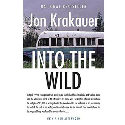 jon krakauer pushes the characters into extremes in into the wild