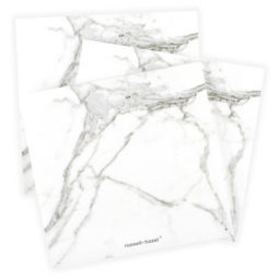 3 notepads, marble design