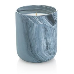 marble scented candle